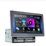 "Jensen 10.1"" Capacitive TFT Touch Screen Mechless CP / AA Multimedia Receiver"