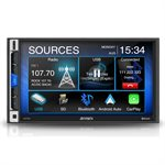 "Jensen 7"" Capacitive Touchscreen LCD (1024 x 600), Built-in Bluetooth"