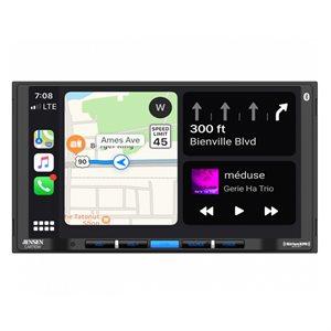 "Jensen 7"" LCD Wireless CP / AA Mechless SXM Receiver"