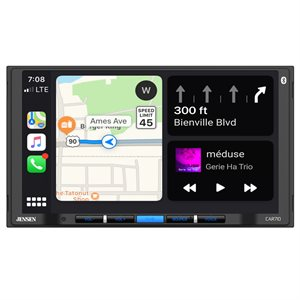 "Jensen 7"" LCD CP / AA Mechless Receiver"
