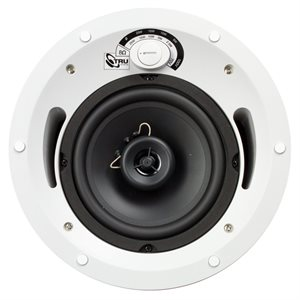 "TruAudio 70 Volt 2-Way Speaker w / 6.5"" Woofer UL Listed"