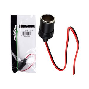 Install Bay Female Cigarette Lighter Plug (retail pkg)