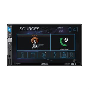 "Jensen 7"" Capacitive touchscreen LCD (1024x600), Built-in Bluetooth"