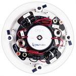 "TruAudio 6.5"" Dual Silk Tweeters Poly Woofer (white, single)"