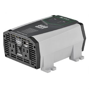 Cobra 800 Watt Power Inverter with 2 Gounded AC Plugs