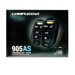 CompuStar CS 1-Way 1500' Alarm / Starter, BLADE Ready