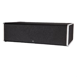"Def Tech Center Channel Speaker w / Integrated 8"" Sub & Bass Radiator"