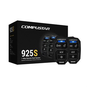 CompuStar 4-Button 1-Way, 1500' Remote Start System, BLADE Ready