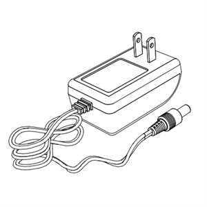 Lutron Shades 1 Output, 12v Plug-in Power Supply