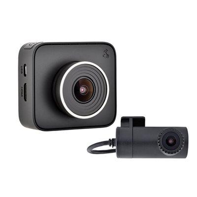 Cobra Dual View DashCam w / Smartphone Enabled iRadar Integrat