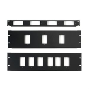 Chief 1U Rack Panel for 4 Decora Devices