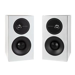 Def Tech D9 Bookshelf Speakers (white, pair)