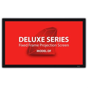 """Severtson 112"""" 16:9 Deluxe Series Fixed Frame Screen (Cinema White-Micro Perf)"""