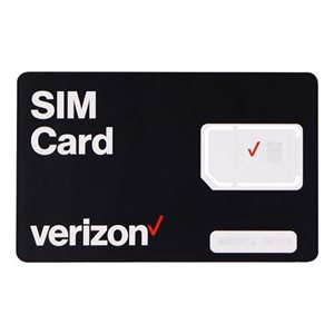 GOTW3 Verizon SIM Card, 200 GB Plan (black)