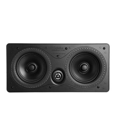 """Def Tech 5.5"""" Rectangular In-Wall LCR Speaker (single)"""