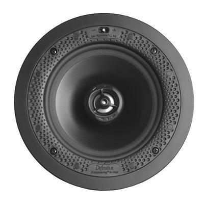 """Def Tech 6.5"""" Round In-Wall / In-Ceiling Speaker (single)"""