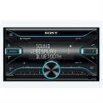 Sony DDIN SXM 55W Mechless with Dual Bluetooth EQ10