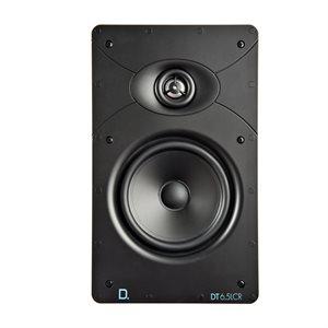 """Def Tech 6.5"""" Rectangular In-Wall LCR Speaker (single)"""