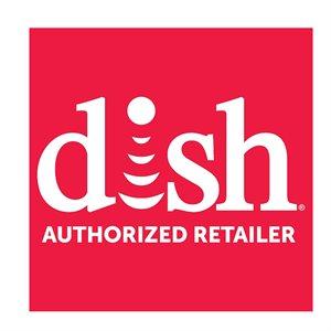 DISH Authorized Retailer Logo Window Cling