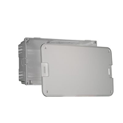 """On-Q 8"""" Plastic MDU Enclosure and Cover"""