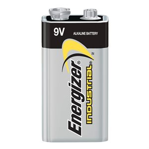 Energizer 9V Industrial Alkaline Battery