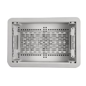 "On-Q 9"" Dual-Purpose In-Wall Enclosure Cover / Trim / Plate (White)"