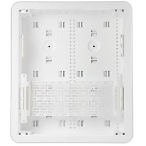 "On-Q 17"" Dual-Purpose In-Wall Enclosure Cover / Trim / Plate (White)"