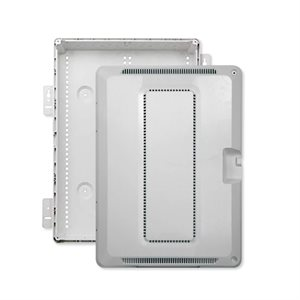 "On-Q 20"" Plastic Enclosure with Hinged Door"