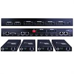Vanco Evolution HDMI 4x4 Matrix Select Switch Over Cat 5e / 6