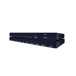 Vanco Evolution Premium 4K HDMI 1x8 Splitter