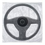 Slip-N-Grip Steering Wheel Cover - Bag Style w / hole, 500 per box