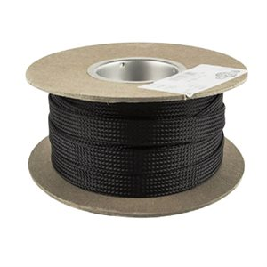 """Install Bay 1 / 4"""" Expandable Sleeving Black, 200ft"""