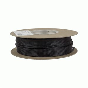 Install Bay 1in Expandable Sleeving Black, 65ft