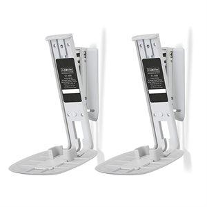 Flexson Wall Mount for Sonos One Speaker (white, pair)