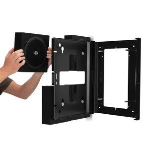 Flexson Wall Mount for 4 each Sonos Amps (black)