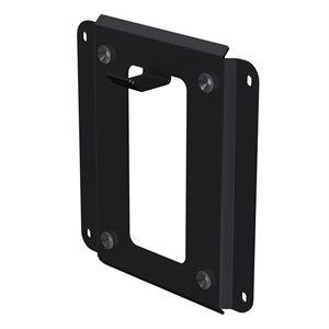 Flexson Wall Bracket for SUB Subwoofer (black, single)