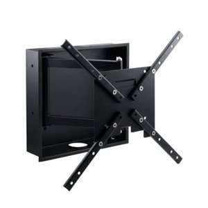 """Ethereal 32""""–60"""" Full-Motion Mount with In-Wall Box"""