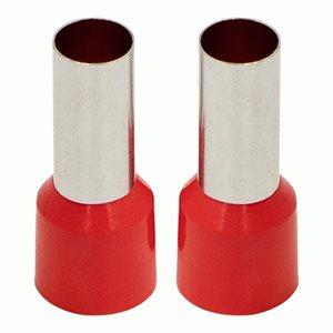 Install Bay Ferrules - Red 4GA 50 / Bag