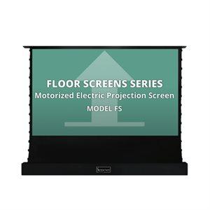 """Severtson 120"""" 16:9 Floor Screen (cinema white)"""
