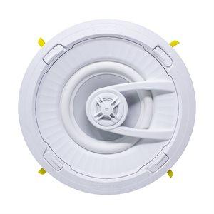 "TruAudio 7"" In-Ceiling Ghost Speaker, White Poly Woofer (each)"