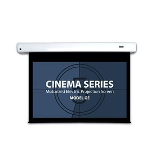 "Severtson 109"" 16:10 Cinema-Series II Motorized (matte white)"