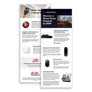 DISH 1H 2021 Smart Home Services Insert, 25pk