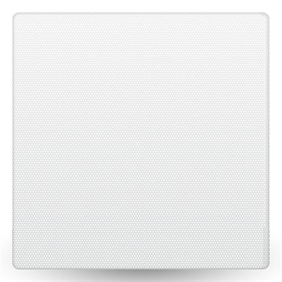 "TruAudio Ghost 6.5"" Square Replacement Grille (white, single"