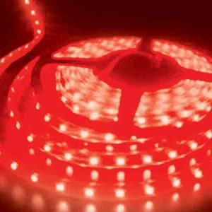 Heise 5 Meter LED Strip Light (retail pkg, red)
