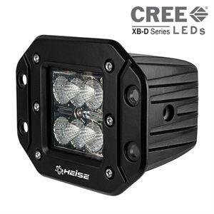 """Heise 3""""x3"""" 6-LED Flush-Mount Cube Light"""