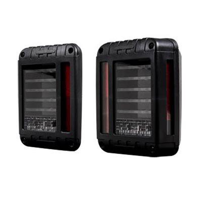 Heise 2007+ Jeep Wrangler Transp Lense 29-LED Tail Light