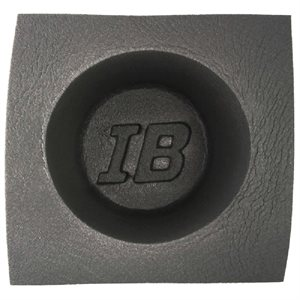 Install Bay Acoustic Speaker Baffles 6 1 / 2 Inch Round Large Frame - Pair