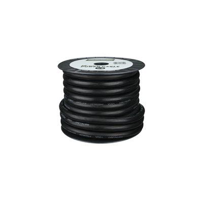 Install Bay 1 / 0 ga Power Cable 50' Spool (black)