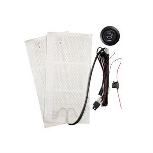 Install Bay Single Seat Heater with Illum 3 Pos Switch