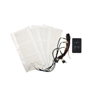 Install Bay Heated Seat KitT 5 POS Switch Dual Seat